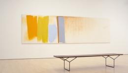 Friedel Dzubas color field long painting