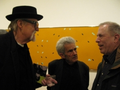Frosty Myers and Larry Poons