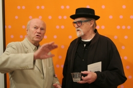 Jim Rosenquist and Frosty Myers