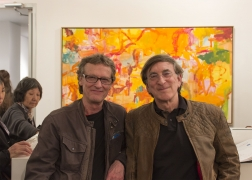 Loretta Howard Gallery artists: David Row and Joel Perlman