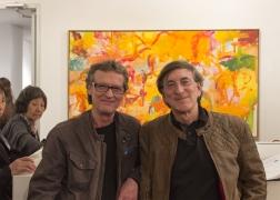 Loretta Howard Gallery artists: David Row and Joel Perlman