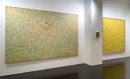 Left to right: Fairy, Untitled (64), Yellow Painting No. 7