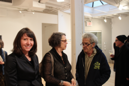 Loretta Howard, Hannele Dzubas, and Larry Poons