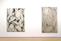 Untitled #4, Series X, 1970; Untitled B-II, 1972,