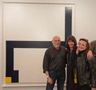 Peter Capuso (Estate of George Sugarman), Loretta Howard, and Mara Held (Al Held Foundation)