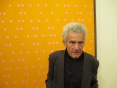 Larry Poons himself portrait