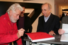 Mark di Suvero, Artist and Irving Sandler, Critic