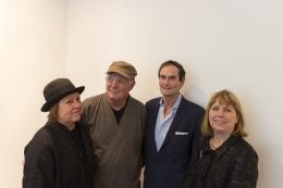 Margrit Lewczuk (Painter), Bill Jensen (Painter), Robert S. Mattison (Art Historian), and Liza Mattison