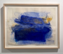 Reverse Drawing 1 (blue), 1966