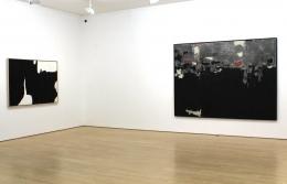 Untitled, 1960; Silver-Grey & Black, 1958,