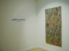 Larry Poons new work