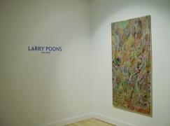 Larry Poons new work