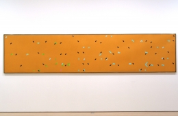 Larry Poons Color Field Dot paintings