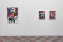 Installation Shot, Jim Dine, 2018