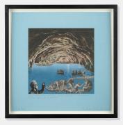 Peter Blake Joseph Cornell's Holiday - Capri, The Blue Grotto, Italy, 2015