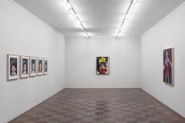 Installation Shot, Jim Dine, 2018