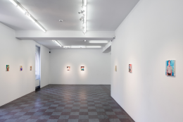 Installation Shot, Oh To Be Back In The Land Of Coca-Cola, 2013