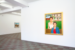 Installation Shot, Blake's Artists and Other Collages, 2012