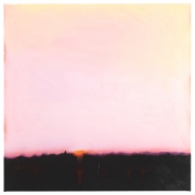 Film Edge (Pink Sky, Pink Horizon), Isca Greenfield-Sanders