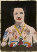 Tattooed Woman 4, Peter Blake