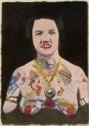 Tattooed Woman 4, Peter Blake