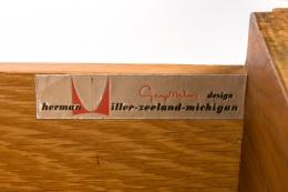 George Nelson Walnut Nightstands for Herman Miller