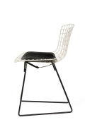 Harry Bertoia Child's Chairs in White with Original Knoll Seat Pads