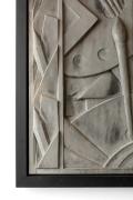 Barbizon Plaza Hotel Cast Aluminum Frieze Panel