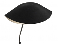 """Serge Mouille Wall Light with """"Moule"""" Shade"""