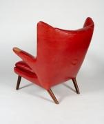 """Hans J. Wegner """"Papa Bear"""" Chair for A.P. Stolen, 3/4 Back"""