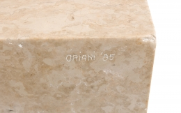 Marble Abstract Figural Sculpture by Oriani, Close Up 2