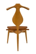 Hans Wegner Teak Valet Chair by Johannes Hansen for Knoll