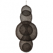 Organic Woven Mesh Wire Sculpture by Ulrikk Dufosse