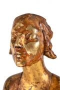 """Chinoise"" by Gertrude Vanderbilt Whitney Gilded Plaster, Close Up 4"
