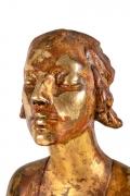 """Chinoise"" by Gertrude Vanderbilt Whitney Gilded Plaster, Close Up 4"
