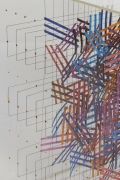 Irving Harper Paper and String Sculpture in Acrylic Box, Close Up 2