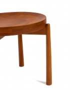Jens Quistgaard Style Teak Tray Table, Cropped