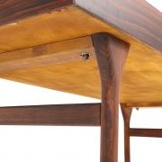 Nanna Ditzel & Jorgen Ditzel Rosewood Four Drawer Desk, Bottom View