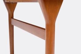 Nanna Ditzel & Jorgen Ditzel Teak Desk with Four Drawers, Legs of Desk