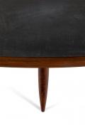 Phillip Lloyd Powell Walnut and Slate Coffee Table