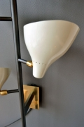Sarfatti Style Large Multi-Shade Sconces