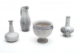 Herman A. Kahler Keramik Earthenware Vases by Svend Hammershoj