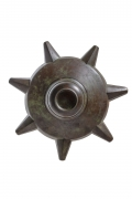 Patinated Bronze Chandelier