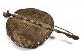 Harry Bertoia Silver Brooch