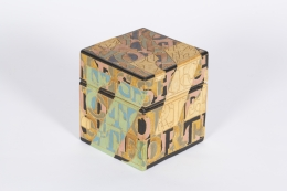 Stoneware Lidded Box by Bo Kristiansen