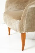 """Kerstin Horlin-Holmquist """"Little Adam"""" Lounge Chair, Close Up"""