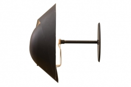 Snail Sconce Attributed to Serge Mouille