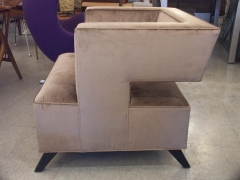 """Cubist"" Lounge Chair"