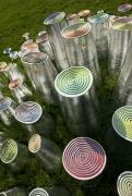 """""""Magic Wood"""" Ceramic Sculptures by Fausto Salvi, Close Up 2"""