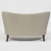 "Scandinavian Mid-Century Nanna Ditzel ""Allé Sofa"" Reupholstered in Leather, Back View"